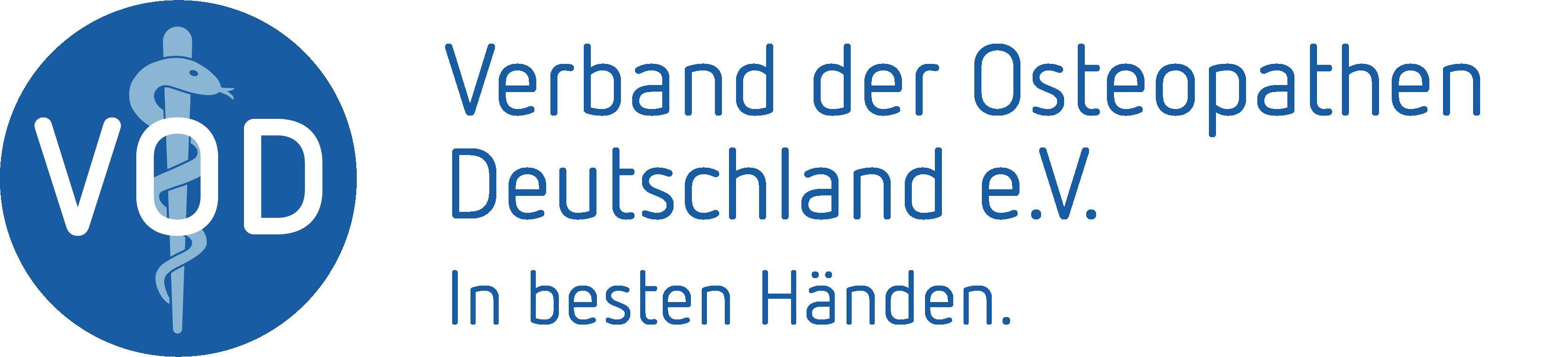 Logo Verband der Osteopathen Deutschland e.V. (VOD e.V.)