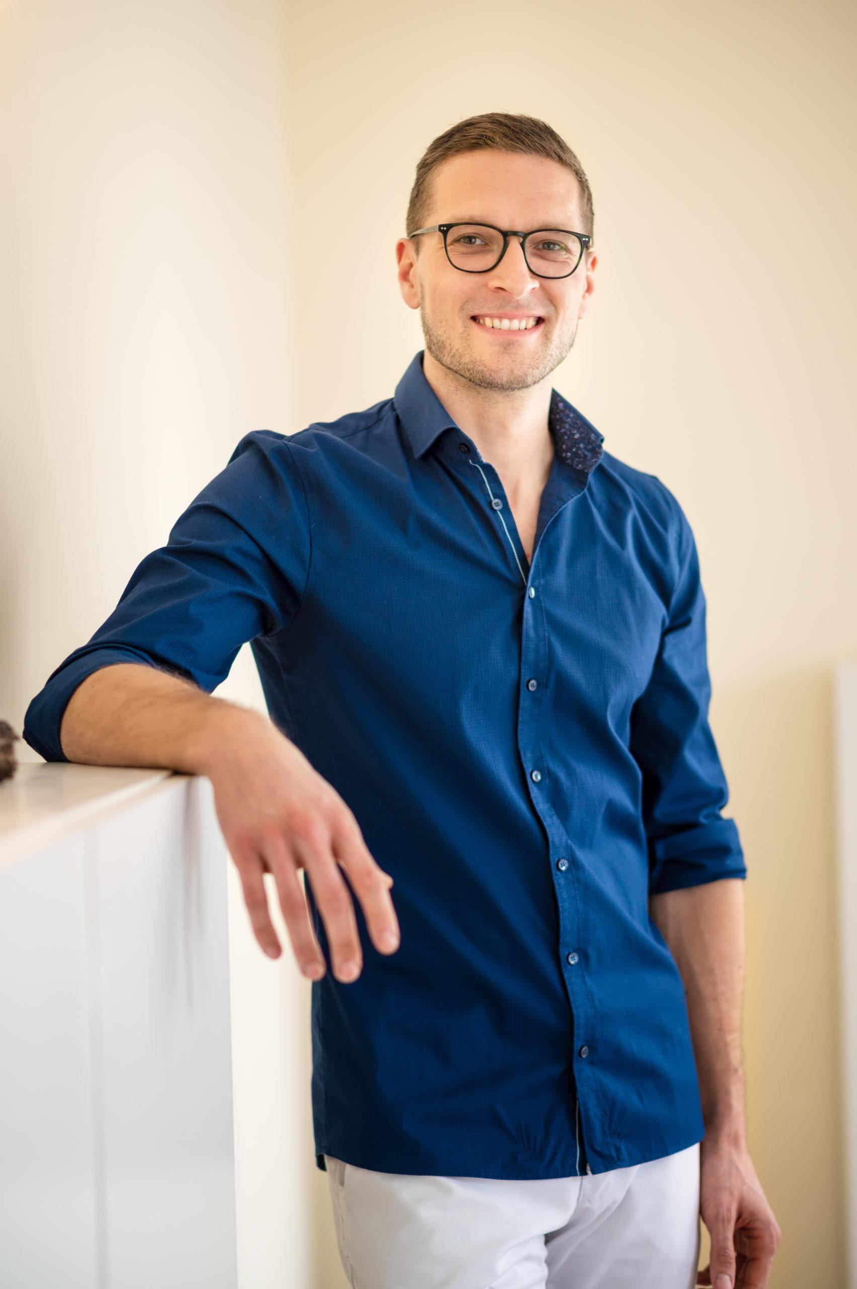 Portrait von Osteopath Richard Müller